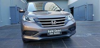 2013 Honda CR-V 30 MY14 VTi (4x2) Brown 5 Speed Automatic Wagon.