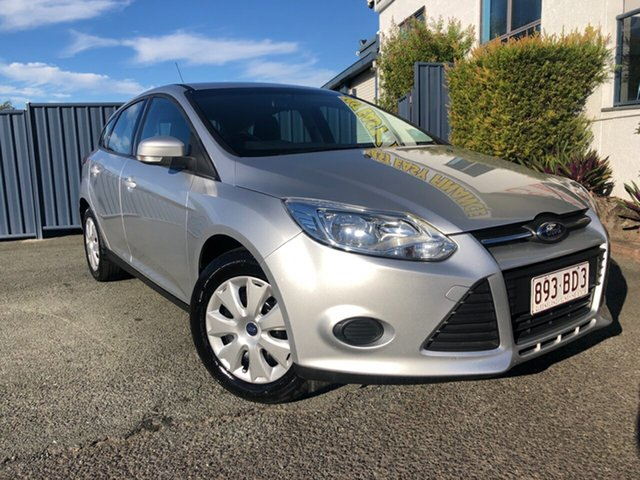 Used Ford Focus LW MkII Ambiente PwrShift Slacks Creek, 2014 Ford Focus LW MkII Ambiente PwrShift Silver 6 Speed Sports Automatic Dual Clutch Hatchback