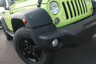 2016 Jeep Wrangler JK MY2016 Sport Green 5 Speed Automatic Softtop.