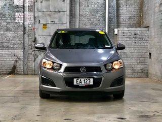 2011 Holden Barina TK MY11 Grey 5 Speed Manual Hatchback.