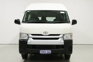 2018 Toyota HiAce KDH223R MY16 Commuter White 4 Speed Automatic Bus.