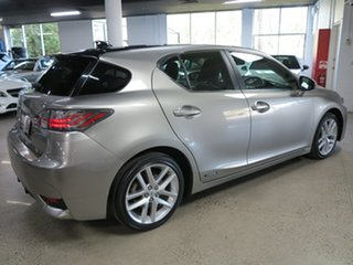 2017 Lexus CT ZWA10R MY16 CT200h Limited Edition Silver 1 Speed Constant Variable Hatchback Hybrid