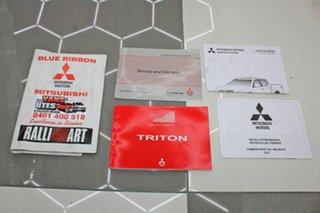 2014 Mitsubishi Triton MN MY15 GLX (4x4) White 5 Speed Manual 4x4 Double Cab Utility