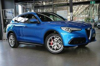 2018 Alfa Romeo Stelvio Ti AWD Blue 8 Speed Sports Automatic Wagon.