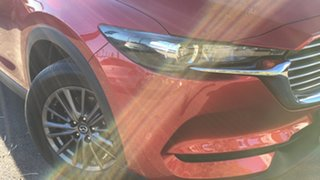 2020 Mazda CX-8 KG2WLA Sport SKYACTIV-Drive FWD Red 6 Speed Sports Automatic Wagon.