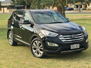 2014 Hyundai Santa Fe DM MY14 Highlander Phantom Black 6 Speed Sports Automatic Wagon.
