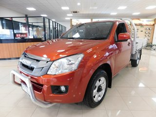 2015 Isuzu D-MAX MY15 SX 4x2 Red 5 Speed Manual Cab Chassis