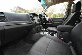 2015 Mitsubishi Pajero NX MY16 GLX White 5 Speed Automatic Wagon