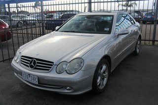 2004 Mercedes-Benz CLK-Class C209 MY05 CLK320 Avantgarde Silver 5 Speed Automatic Coupe