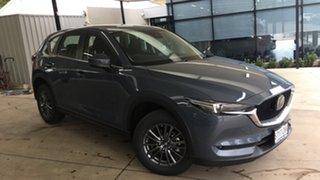 2021 Mazda CX-5 KF2W7A Maxx SKYACTIV-Drive FWD Sport Polymetal Grey 6 Speed Sports Automatic Wagon.