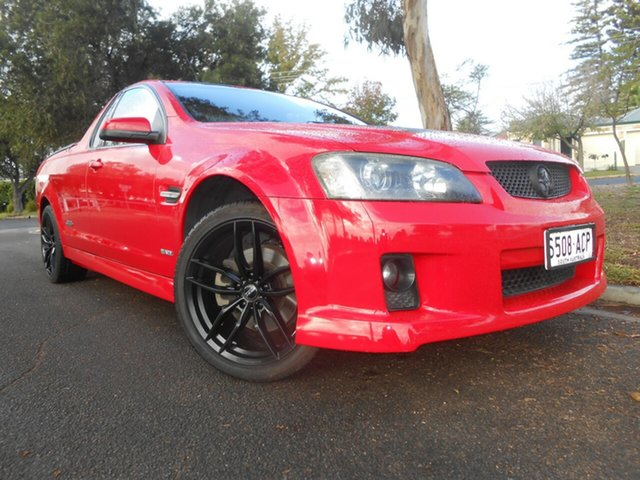 Used Holden Ute VE MY09.5 SS V Broadview, 2009 Holden Ute VE MY09.5 SS V Red 6 Speed Sports Automatic Utility