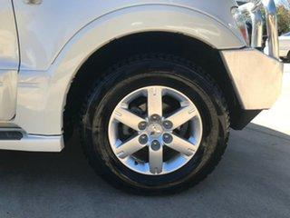 2006 Mitsubishi Pajero NP MY06 Exceed LWB (4x4) White 5 Speed Auto Sports Mode Wagon