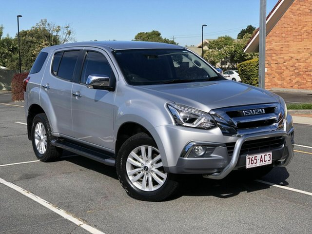Used Isuzu MU-X MY17 LS-U Chermside, 2017 Isuzu MU-X MY17 LS-U Silver 6 Speed Manual Wagon