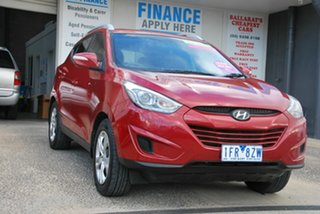 2015 Hyundai ix35 LM Series II Active (FWD) Red 6 Speed Automatic Wagon.