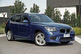2014 BMW X1 E84 LCI MY1113 sDrive18d Steptronic Blue 8 Speed Sports Automatic Wagon