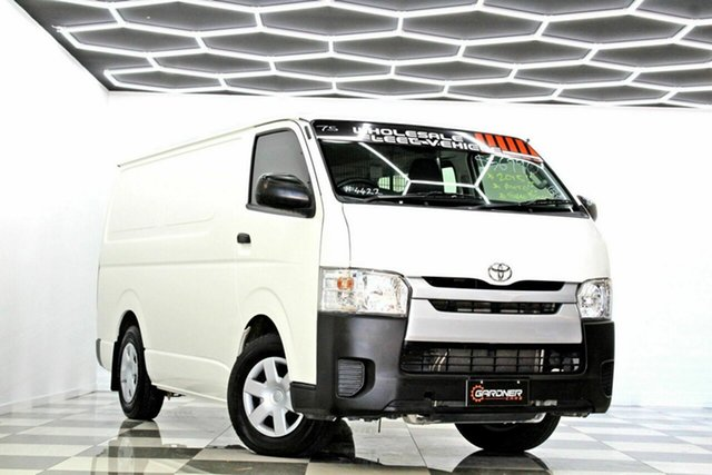 Used Toyota HiAce KDH201R MY15 LWB Burleigh Heads, 2015 Toyota HiAce KDH201R MY15 LWB White 4 Speed Automatic Van