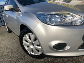 2014 Ford Focus LW MkII Ambiente PwrShift Silver 6 Speed Sports Automatic Dual Clutch Hatchback.