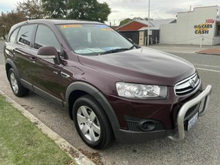 2012 Holden Captiva CG MY12 7 SX (FWD) Red 6 Speed Automatic Wagon.