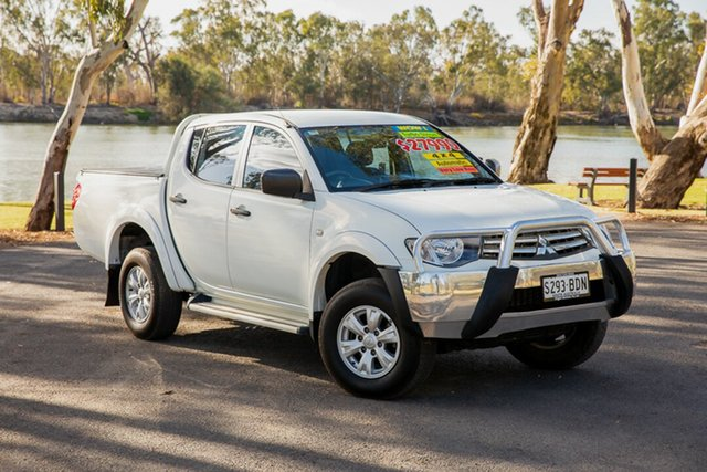 Used Mitsubishi Triton MN MY15 GLX (4x4) Loxton, 2014 Mitsubishi Triton MN MY15 GLX (4x4) White 4 Speed Automatic 4x4 Double Cab Utility