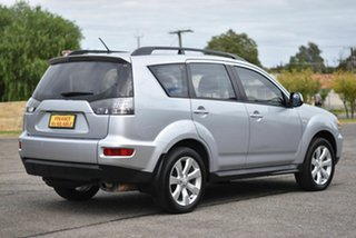 2012 Mitsubishi Outlander ZH MY12 LS Silver 6 Speed Constant Variable Wagon
