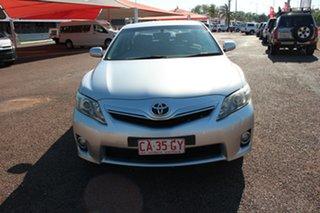2011 Toyota Camry AHV40R Hybrid Silver Ash 1 Speed Constant Variable Sedan Hybrid.