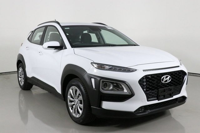 Used Hyundai Kona OS.3 MY20 GO (FWD) Bentley, 2019 Hyundai Kona OS.3 MY20 GO (FWD) White 6 Speed Automatic Wagon