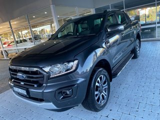 2019 Ford Ranger Wildtrak Grey Sports Automatic Double Cab Pick Up.