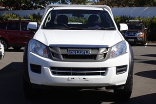 2013 Isuzu D-MAX MY12 SX Space Cab White 5 Speed Sports Automatic Cab Chassis.
