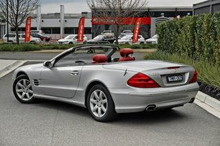 2005 Mercedes-Benz SL-Class R230 MY05 SL350 Silver 5 Speed Sports Automatic Roadster