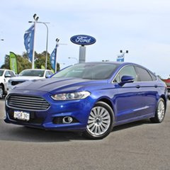 2016 Ford Mondeo MD Trend Blue 6 Speed Sports Automatic Hatchback.