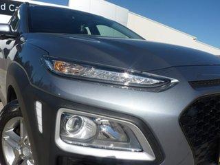 2018 Hyundai Kona OS MY18 Active 2WD Silver 6 Speed Sports Automatic Wagon