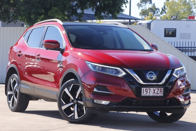 Used Nissan Qashqai J11 Series 2 N-TEC X-tronic Bundamba, 2017 Nissan Qashqai J11 Series 2 N-TEC X-tronic Magnetic Red 1 Speed Constant Variable Wagon