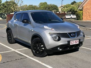 2014 Nissan Juke F15 MY14 ST 2WD Midnight Silver 1 Speed Constant Variable Hatchback.