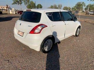 2014 Suzuki Swift White 4 Speed Auto Active Select Hatchback