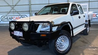 2004 Holden Rodeo RA LX Crew Cab White 5 Speed Manual Utility.