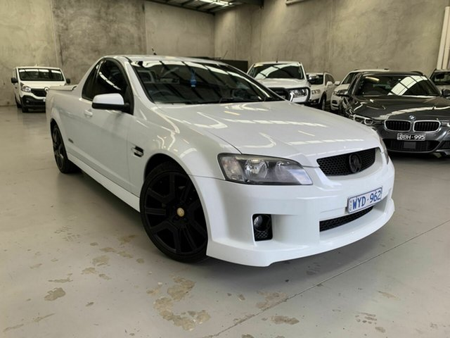 Used Holden Ute VE MY09.5 SS Coburg North, 2009 Holden Ute VE MY09.5 SS White 6 Speed Sports Automatic Utility