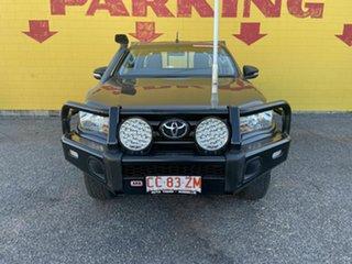 2016 Toyota Hilux GUN126R SR Extra Cab Grey 6 Speed Manual Utility.