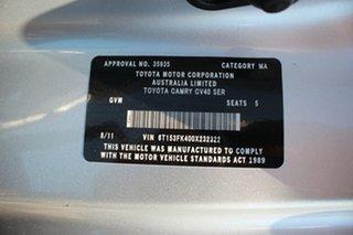 2011 Toyota Camry AHV40R Hybrid Silver Ash 1 Speed Constant Variable Sedan Hybrid