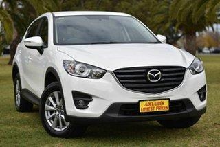 2016 Mazda CX-5 KE1072 Maxx SKYACTIV-Drive White 6 Speed Sports Automatic Wagon.
