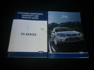2008 Ford Falcon FG XR6 Maroon 5 Speed Sports Automatic Sedan.