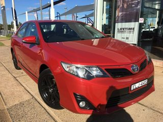 2014 Toyota Camry ASV50R RZ Red Sports Automatic.