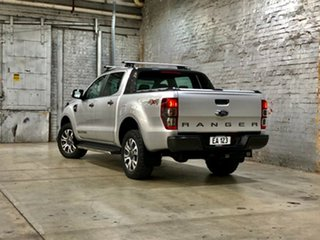 2017 Ford Ranger PX MkII Wildtrak Double Cab Silver 6 Speed Sports Automatic Utility