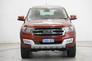 2017 Ford Everest UA Trend Red 6 Speed Sports Automatic SUV.
