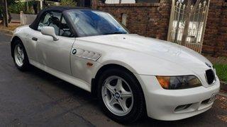 1997 BMW Z3 White 5 Speed Manual Roadster.
