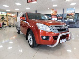 2015 Isuzu D-MAX MY15 SX 4x2 Red 5 Speed Manual Cab Chassis.