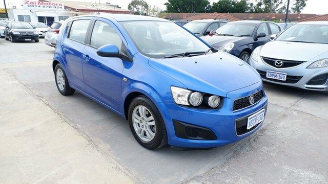 Used Holden Barina TM MY13 CD St James, 2013 Holden Barina TM MY13 CD Blue 6 Speed Automatic Hatchback