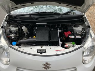 2010 Suzuki Alto GF GL White 4 Speed Automatic Hatchback.