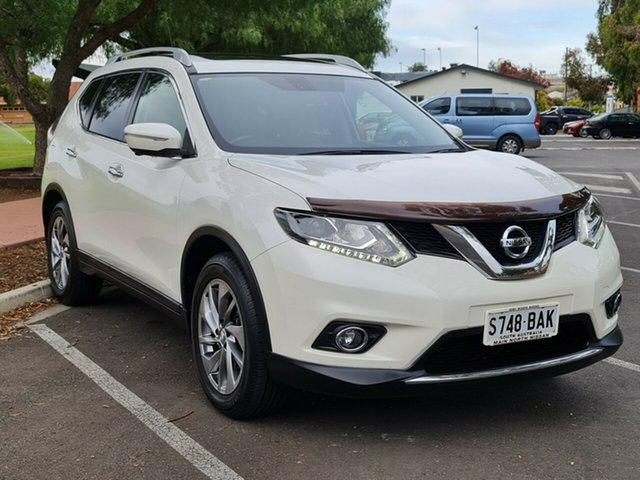 Used Nissan X-Trail T32 Ti X-tronic 4WD Nailsworth, 2014 Nissan X-Trail T32 Ti X-tronic 4WD White 7 Speed Constant Variable Wagon