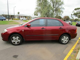 2007 Toyota Corolla ZRE152R Ascent Red 4 Speed Automatic Sedan