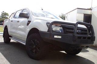 2011 Ford Ranger PX XL White 6 Speed Manual Utility.